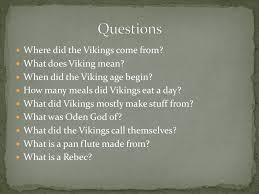 the vikings by conor goodrich ppt