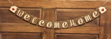 welcome home banner housewarming party banner open house