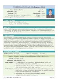 Mechanical Resume Samples For Freshers Resume Of A Mechanical Engineer Fresher Resume For Your Job
