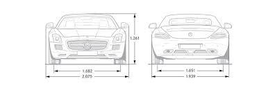 mercedes sls amg specs sls amg roadster dimensions