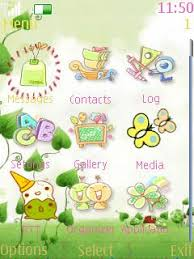 nokia 206 cute themes free nokia asha 206 cute cartoon app download