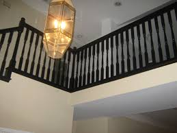 Painted Banisters Paint Stairs Black A Can Do It