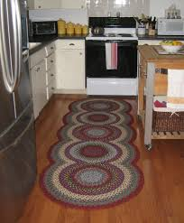 Country Kitchen Rugs Kitchen Room Fashinable Kitchen Rug Five Round Crochet Kitchen