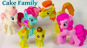 mlp cake family babysitting set my pony pinkie pie