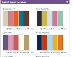 trending color palettes 5 websites for amazing color palettes