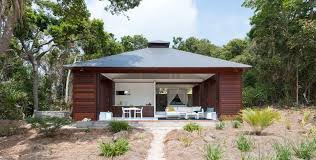 Outdoor Bathrooms Australia Look Inside This Tiny Home On A Remote Australian Island