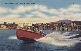 halloween city cda lake coeur d u0027alene postcard roundup