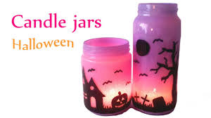 Diy Crafts Halloween by 1diy Diy Crafts Halloween Decorations Candle Jars Lanterns