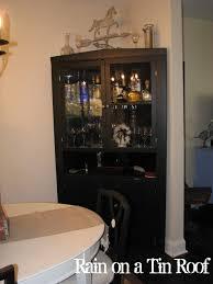 furniture elegant design of locked liquor cabinet for luxury home