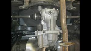 ix35 hyundai tucson 4wd 2014 facelift differential and