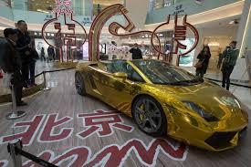 gold lamborghini china now world u0027s largest gold consumer though world demand down
