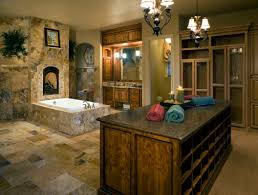 modern bathroom with vanity has locker and drawer for storage with