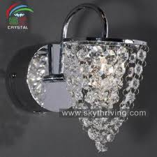 Crystal Wall Sconces Wall Sconces Clear Crystal Wall Light Modern Wall Lamp Global