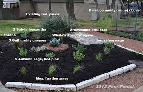 hill country landscaping ideas sharing a garden with a neighbor