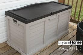 large outdoor patio organizer patio storage box organicoyenforma
