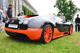 bugatti displayed 9 404 horsepower at the 2017 goodwood festival