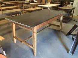 Best Steel Tops Images On Pinterest Kitchen Islands - Stainless steel kitchen table top