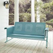 Porch Glider Swings Furniture Porch Glider Patio And Garden Furniture Idea With Metal