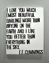 wedding quotes ee i you much e e poem on canvas pinteres