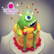 monsters inc birthday cake custom birthday cakes pink ribbon bakery