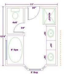 bathroom and closet floor plans bathroom plans free 9x13