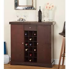 Wine Storage Cabinet Furniture Of America Crestall Multi Storage Espresso Mobile Wine