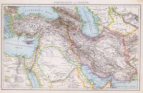 Middle Eastern Map The British Empire And The Middle East Maps