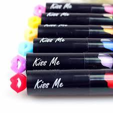 baise bureau 6 pcs lote mini surligneurs baiser st stylo nouveauté