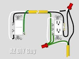 wiring a split switched receptacle u2014 az diy guy
