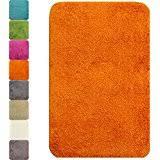Orange Bathroom Rugs by Amazon Co Uk Orange Bath Mats Bathroom Home U0026 Kitchen