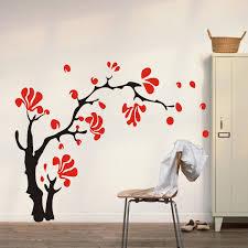 flower wall murals home interior flower wall murals 5