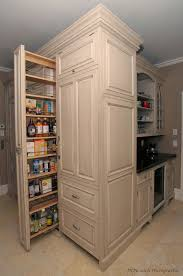 Pull Out Cabinets Kitchen Pantry Pantry Pull Out Vs Door With Attached Storage