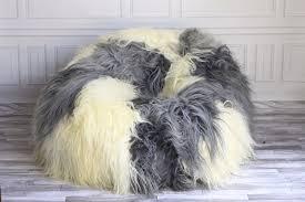 Sherpa Rug Furniture U0026 Rug Sheepskin Beanbag Furry Bean Bags Buy Bean