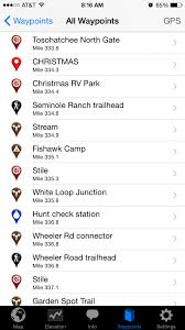 Florida Trail Map by Download The Florida Trail App Florida Hikes