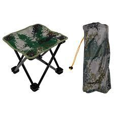 si e pliant randonn 1 pc portable en plein air cing randonnée de pêche tabouret
