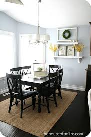Attractive Black Dining Table Decor Best 25 Black Dining Room