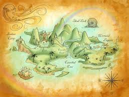 100 Acre Wood Map Neverland Map By Mercedesjk Deviantart Com On Deviantart