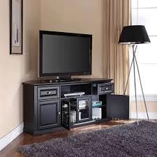 black corner tv cabinet with glass doors displaying photos of black corner tv cabinets with glass doors view