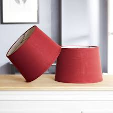 classic drum lamp shade multiple colors base not included
