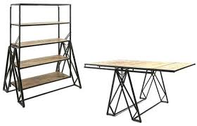 table converts to shelf convertible shelf table popular coffee table converts to desk