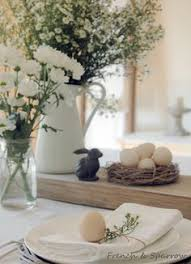 Cute Easter Table Decorations by Bunnies For Easter Cute Easter Table Top Or Centerpiece