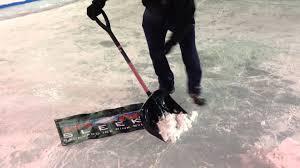 ice rink repair youtube