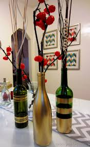 wine bottle centerpieces wine bottle centerpieces wedding party decoration