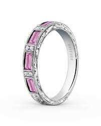 Diamond Sapphire Wedding Ring by 70 Colored Engagement Rings We Love Martha Stewart Weddings