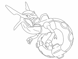 free rayquaza pokemon coloring page full size downloadable