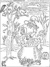 coloring pages good halloween coloring pages