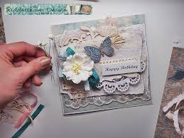 tutorial scrapbook card shabby chic fast easy card tutorial for riddersholm design