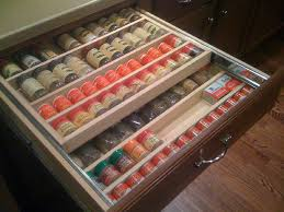 Kitchen Spice Storage Ideas Decorating Unusual Large Spice Racks For Cabinets Drawer With