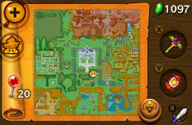 Map Of Hyrule The Legend Of Zelda A Link Between Worlds Review As Picture With