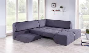 canapé convertible d angle mid de dunlopillo sofa canapé d angle convertible design